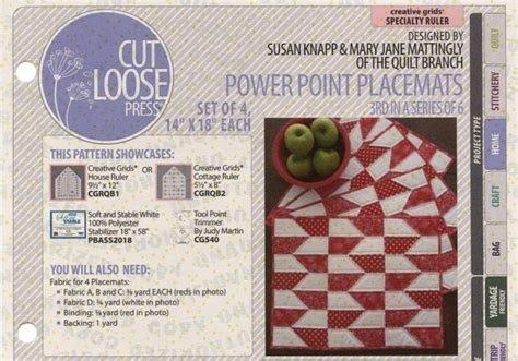Power Point Placemats