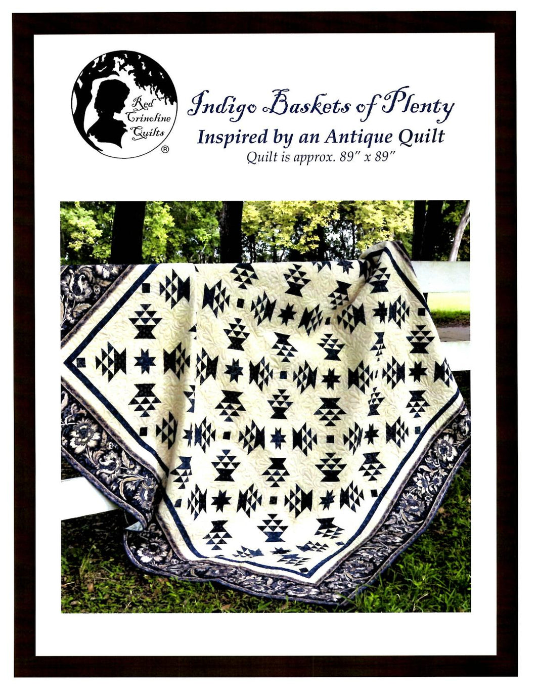 Indigo Baskets of Plenty