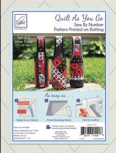 Set of 3 Wine Totes