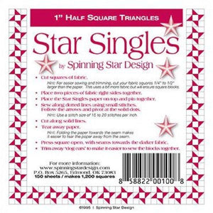 "Star Singles 1"" finished"
