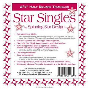 "Star Singles 2.5"" Finished"