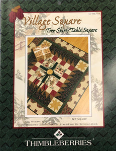 Village Square Tree Skirt/Table Square