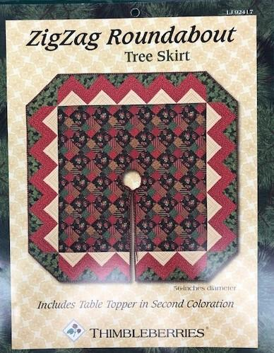 ZigZag Rounabout Tree Skirt