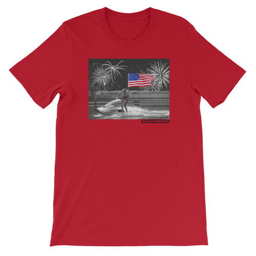 T-Stew 4th of July Short-Sleeve Unisex T-Shirt