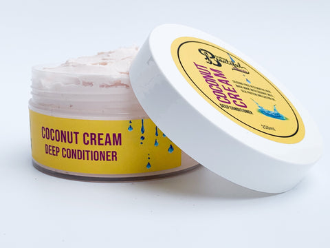 Coconut Cream Deep Conditioner Deep Conditioner Bourn Beautiful Naturals