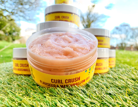 Curl Crush Flaxseed & Marshmallow Gel Gel Bourn Beautiful Naturals