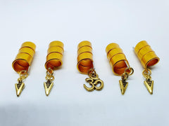 Gold Hair Jewellery Set - 5 pieces