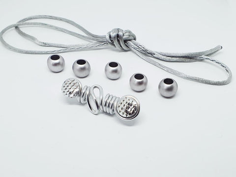 Hair Jewellery Set - Silver