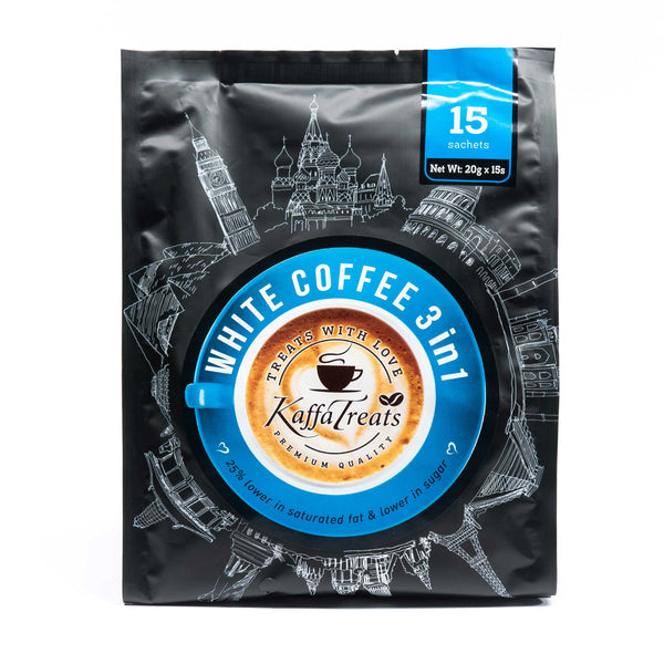KAFFA TREATS WHITE COFFEE 3 IN 1