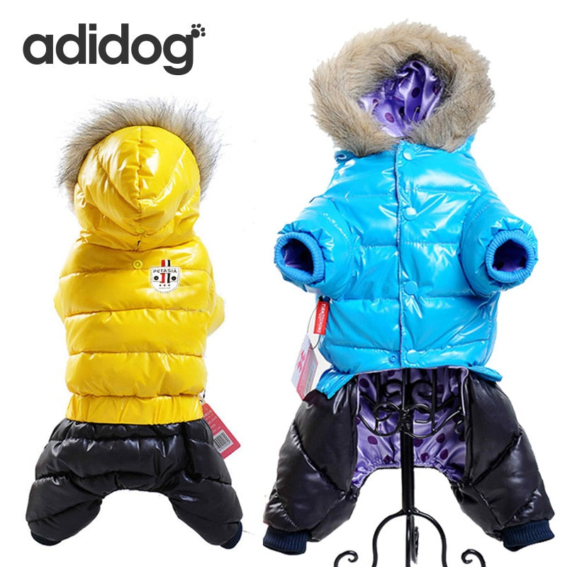 Waterproof Winter Pet Jacket For Dogs