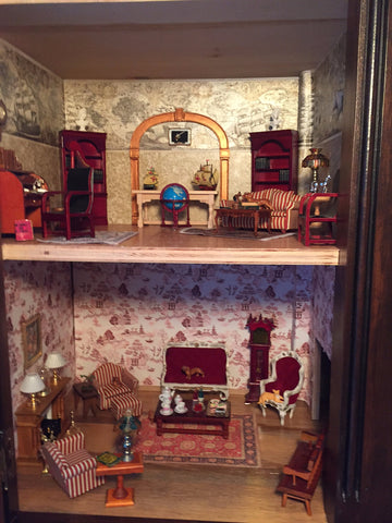 Randy's Custom Cabinet Dollhouse