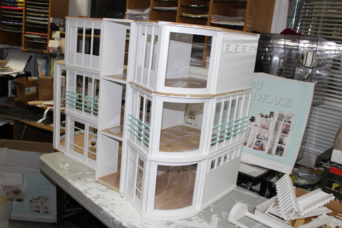 Building The Malibu Beach House Part 2 Dollhouses
