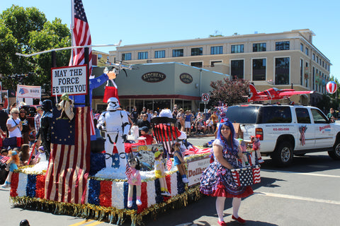 Novato 4th of July Parade
