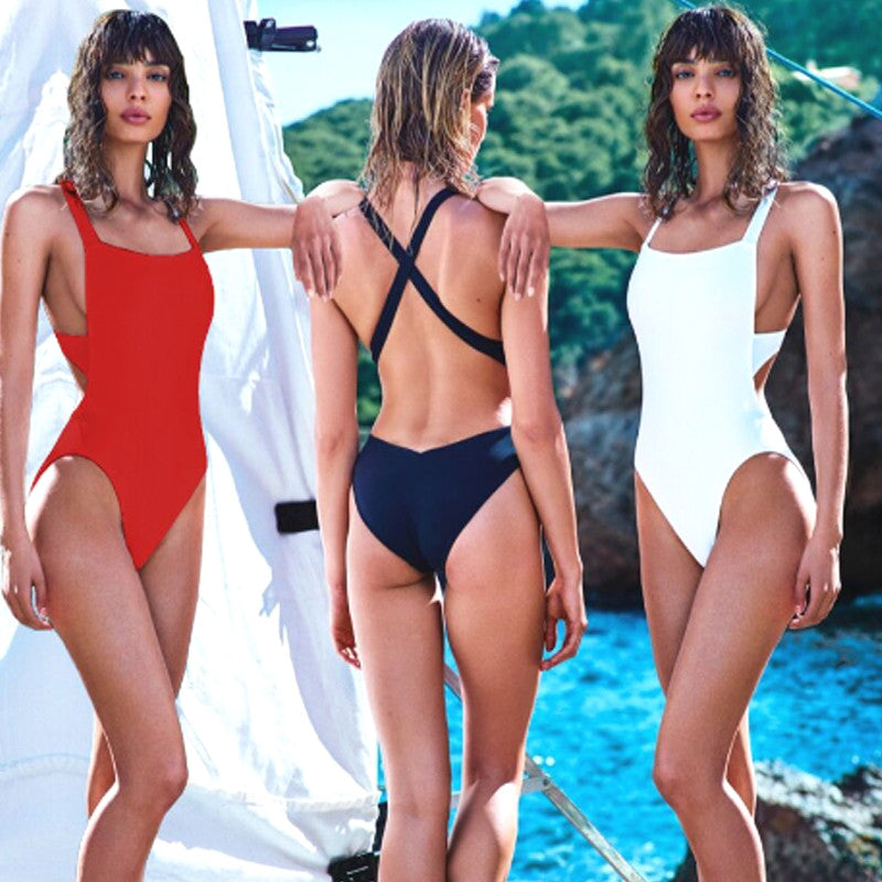 Sexy Trikini  High Cut One Piece Swimsuits
