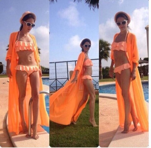 Sexy Long Chiffon Bikini Cover up