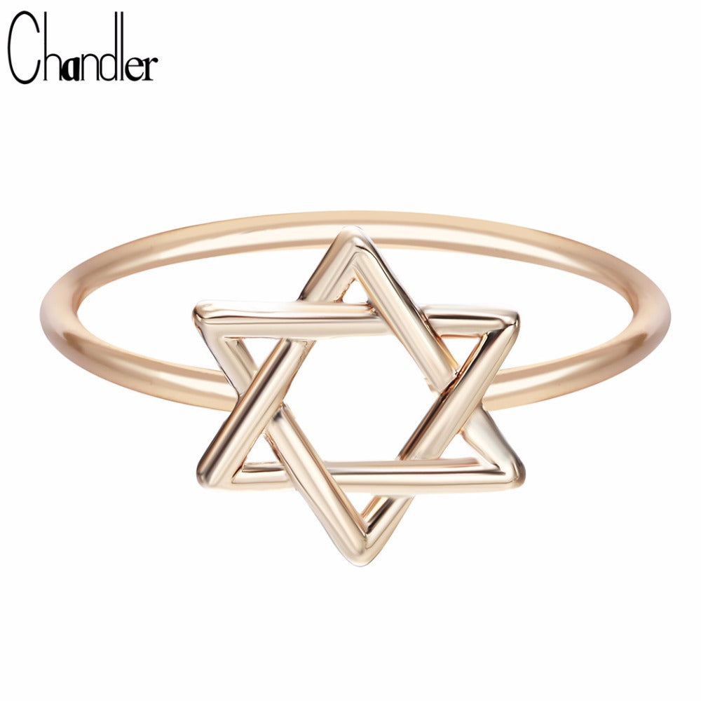 Star of David Toe Ring Pentagram