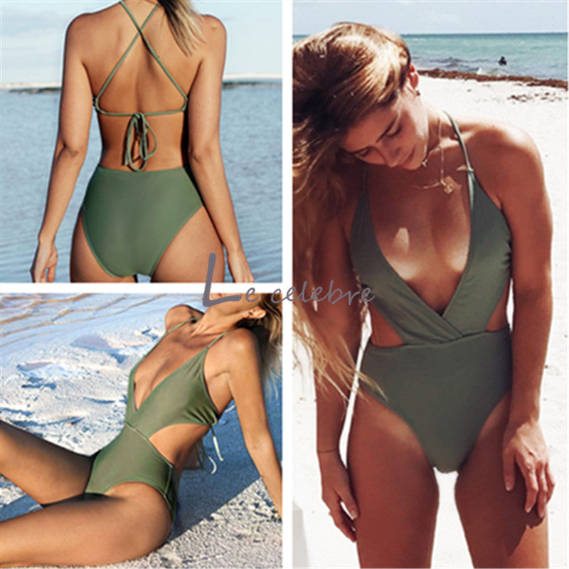 Curvy Girl High Waist Monokini