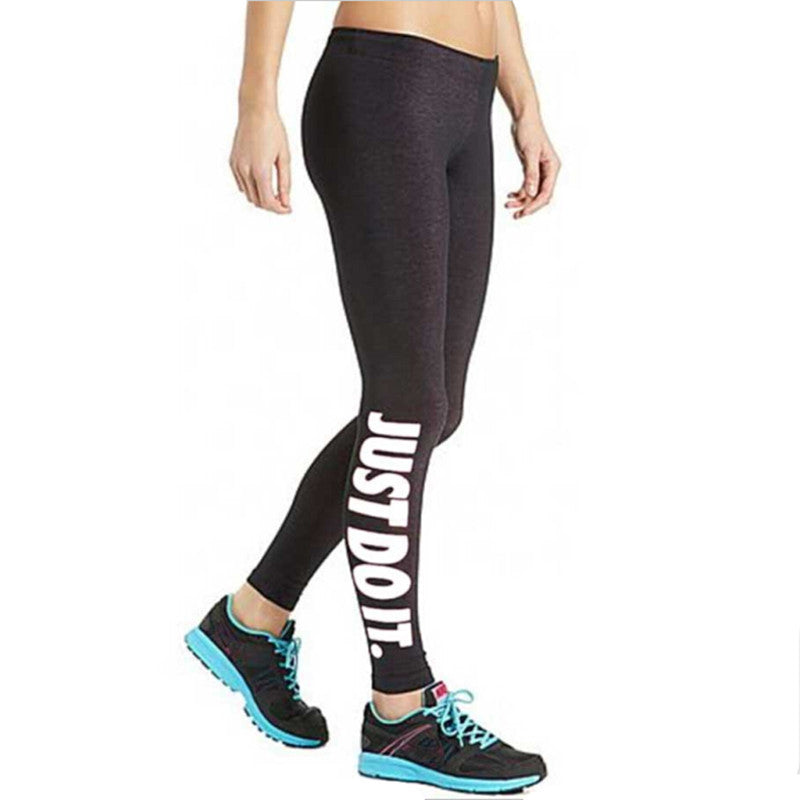 Just Do It Plus Size Jogging Pants