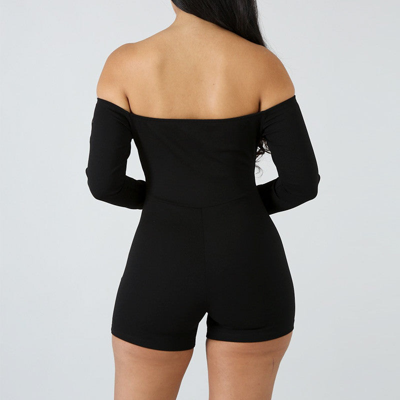 Keep it sexy......Off shoulder romper