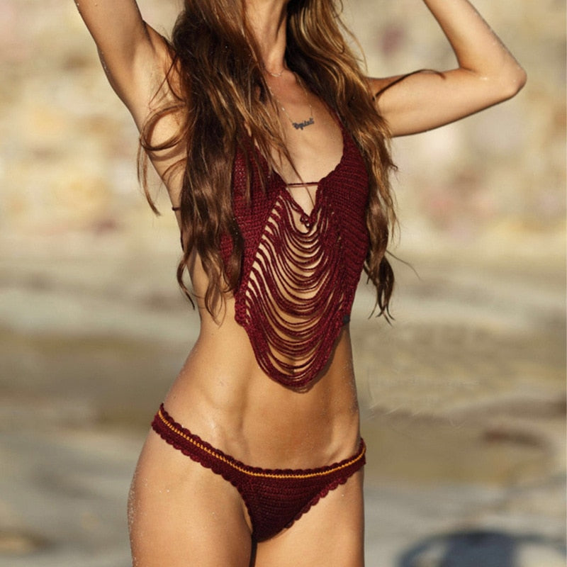 Crochet Brazilian Swimsuit