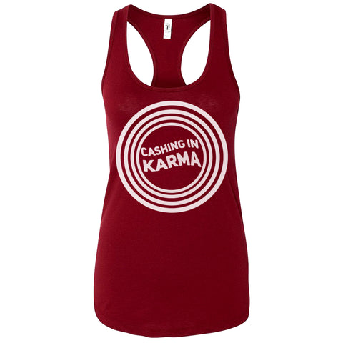 Ladies' Racer-back Tank - Crimson Red