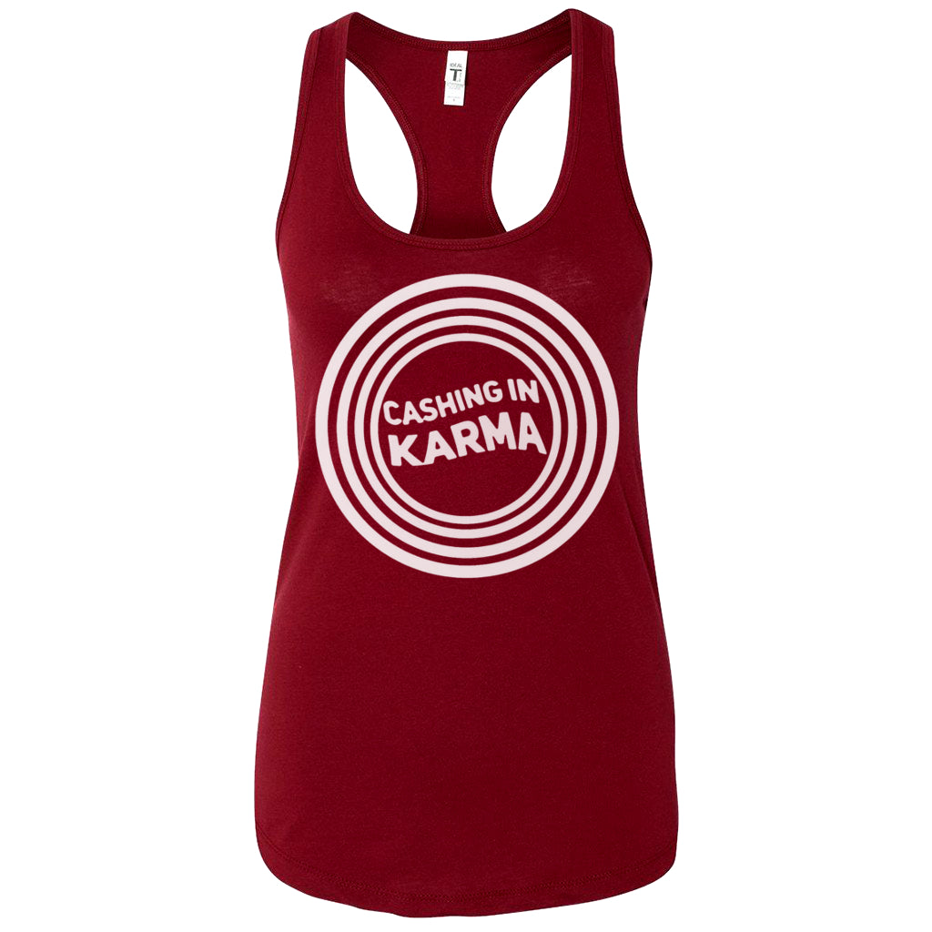 Ladies' Tank - Crimson Red
