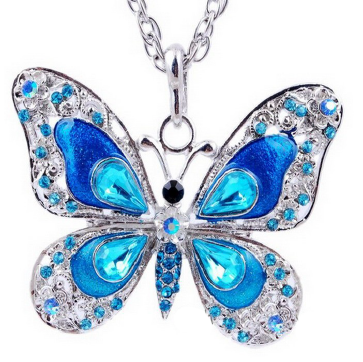 Beautiful Rhinestone Butterfly