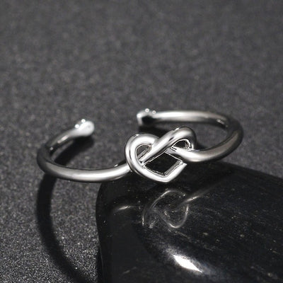 Vintage Geometric Unisex Custom Adjustable Stainless Steel Rings Sliver For Lovers Trendy Fashion Party Decoration Rings Jewelry