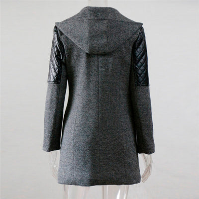 Warm Women's Hooded Coat