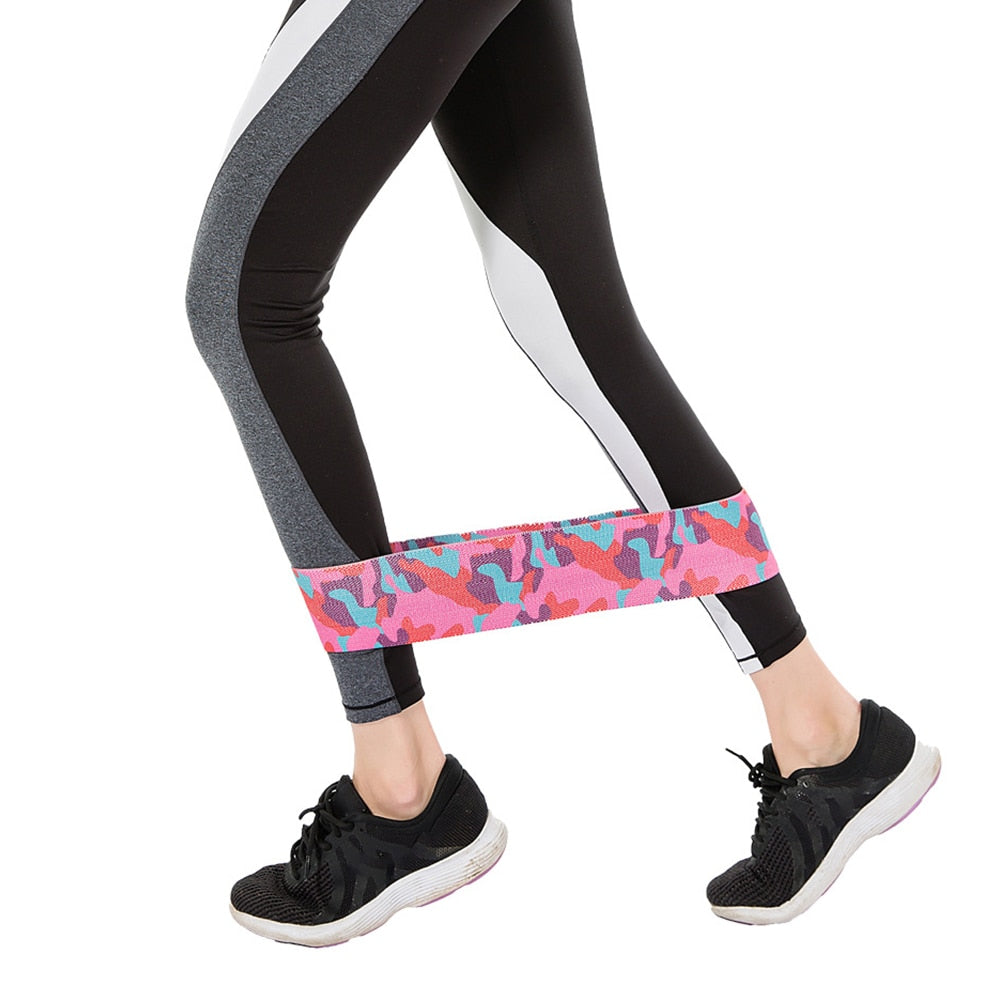 Non-Slip Grip Booty Resistance Bands
