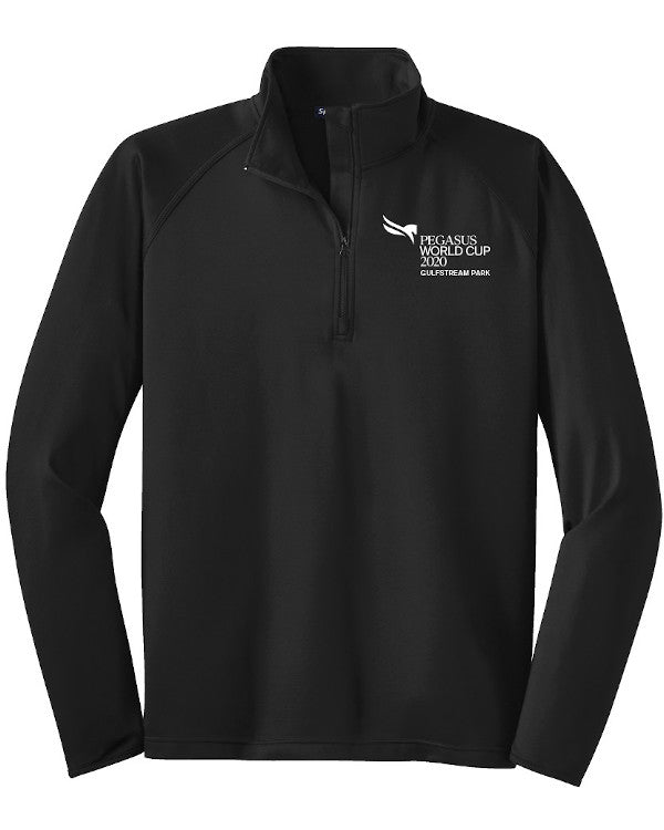 Pegasus World Cup Invitational 2020 Sport-Tek Sport-Wick Stretch 1/2 Zip Pullover