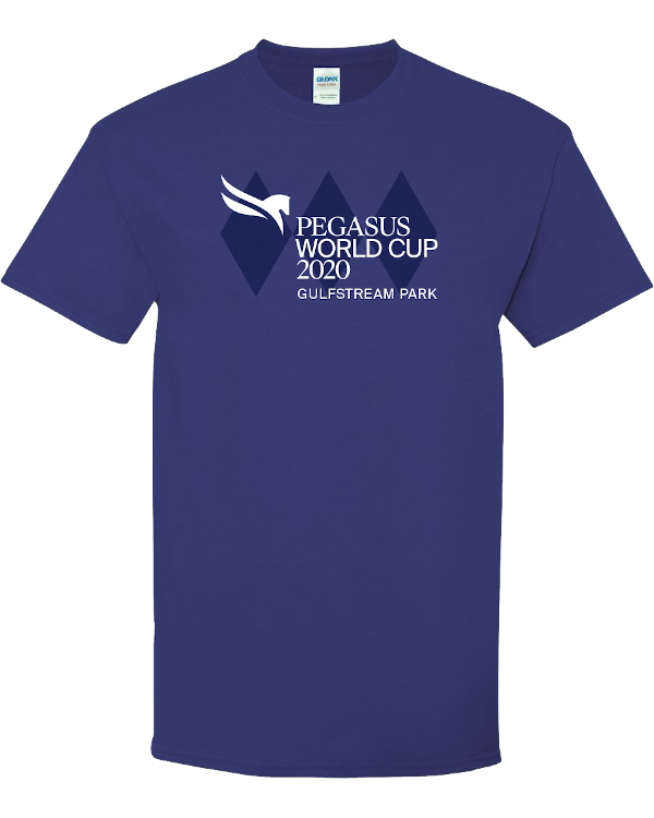 Pegasus World Cup Invitational 2020 Heavyweight 100% Cotton T-Shirt