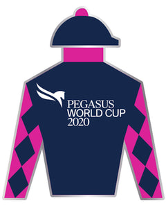 Pegasus World Cup Invitational 2020 Event Logo Silks Magnet