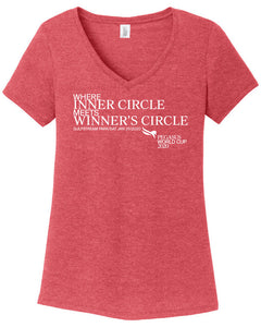 Pegasus World Cup Invitational 2020 Ladies' District Perfect Tri V-Neck Tee