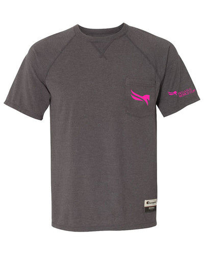 2019 Pegasus World Cup Champion Originals Soft Wash Pocket Tee, Charcoal Heather