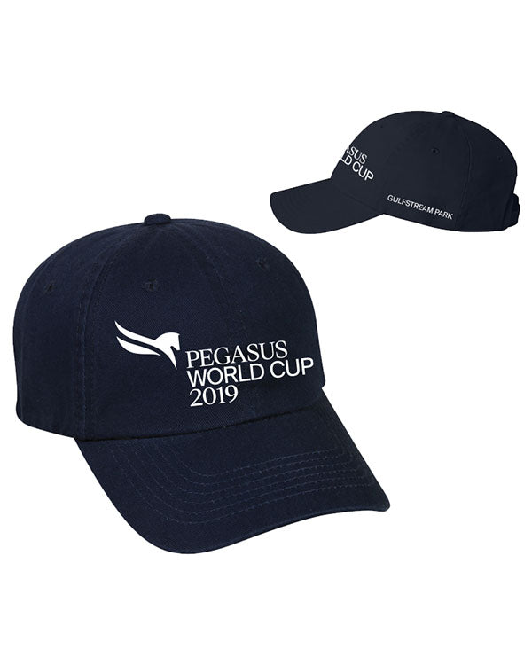 2019 Pegasus World Cup Event Logo Hats, Navy