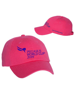 2019 Pegasus World Cup Event Logo Hats, Neon Pink