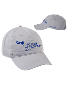 2019 Pegasus World Cup Event Logo Hats, Silver