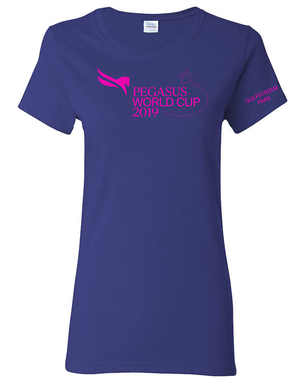 2019 Pegasus World Cup Ladies' Event Logo, Deep Royal