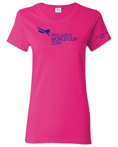 2019 Pegasus World Cup Ladies' Event Logo, Wow Pink