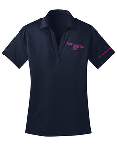2019 Pegasus World Cup Ladies' Silk Touch Polo, Navy