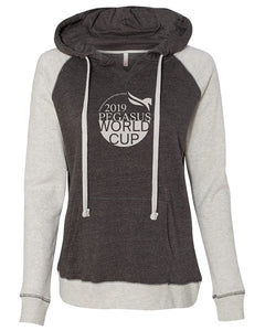 2019 Pegasus World Cup Ladies' Winner's Circle Harper Hooded Sweatshirt, Ash/Charcoal