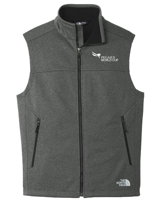 Pegasus World Cup The North Face Ridgeline Soft Shell Vest, Charcoal