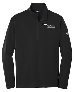 Pegasus World Cup The North Face 1/4 Zip Fleece, Black