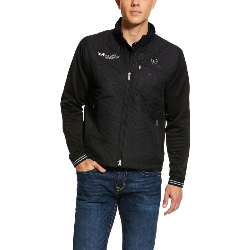 2021 Pegasus World Cup Ariat Men's Hybrid Insulated Jacket