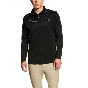 2021 Pegasus World Cup Ariat Men's Baselayer 1/4 Zip