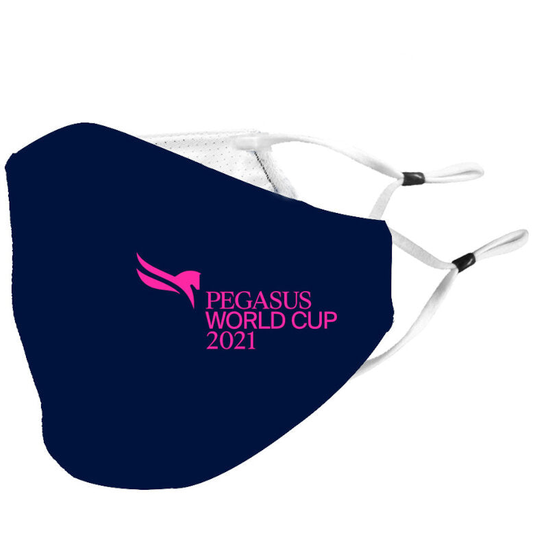 2021 Pegasus World Cup Polyester Performance Face Mask