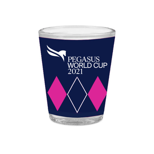 2021 Pegasus World Cup Winners Wrap 2 Oz. Shot Glass