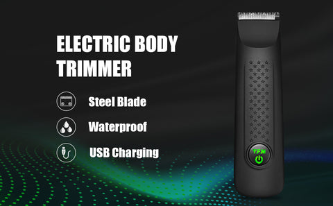Y.F.M Electric Hair Trimmer, Ball Groomer & Body Trimmer for Men, Waterproof Wet/Dry Clippers