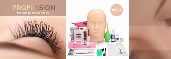 diy eyelash extension kit set